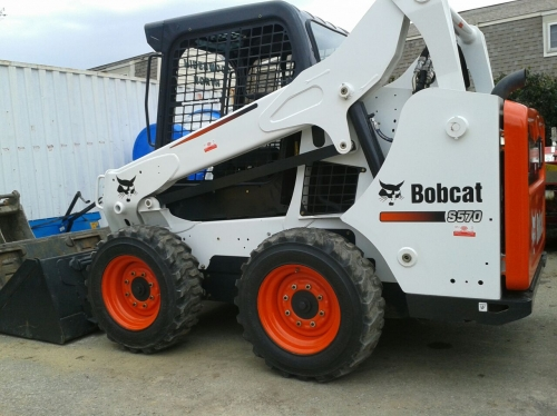 Bobcat, Wheeled Skid Loader