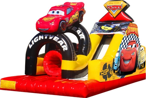 Cars Obstacle Course