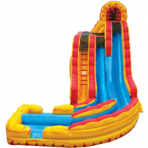 Fire 'N Ice Wet/Dry Slide with Landing