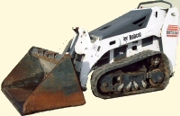 Bobcat Mini Skid Steer with Bucket