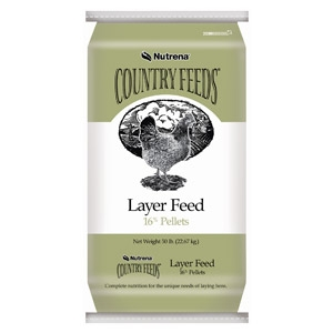 Nutrena® Country Feeds® 16% Layer Pellets