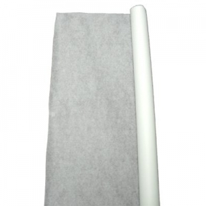 TableMate Fabric Lace 50' Aisle Runner - White
