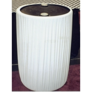 Kwik-Covers  55 Gallon Kwik-Can Cover-White