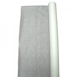 TableMate Fabric Lace 100' Aisle Runner - White