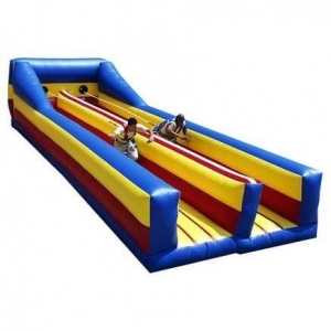 Spacewalk Bungee Run Moonwalk Bounce House