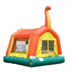 Spacewalk Dino Moonwalk Bounce House