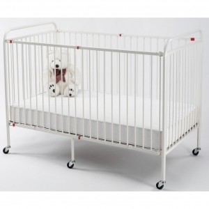 WEHSCO Metal Folding Crib, Full Size