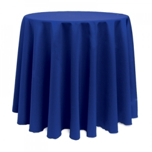 COLOR POLYESTER TABLECLOTH 90