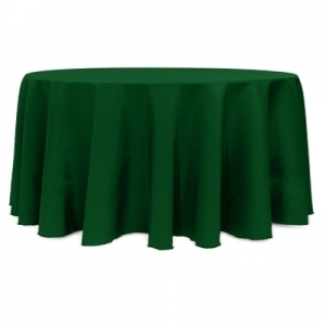 Hunter Polyester Tablecloth 120