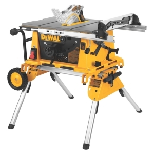 "10"" Jobsite Table Saw w/ Rolling Stand"