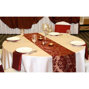 We Rent Linens, Copper Renaissance Table Runner
