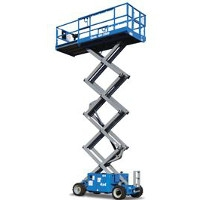 26' Rough Terrain Scissor Lift