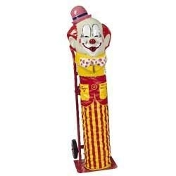 Clown Face Helium Tank