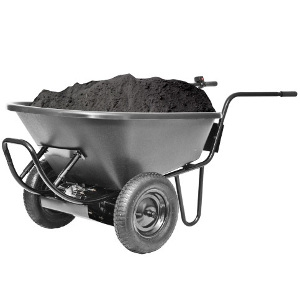 The PAW Electric Wheelbarrow