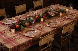 We Rent Linens, Elegant Overlay Table Linens