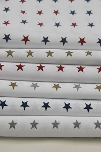 We Rent Linens, Star Print Table Linen