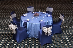 We Rent Linens, Organza Collection Table Linen