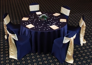We Rent Linens, Satin Collection Table Linen