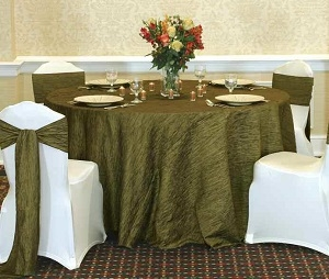 We Rent Linens, Krinkle Table Linen