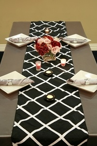 We Rent Linens, Table Runners