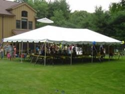 Frame Tent Party Package - 24 Guest