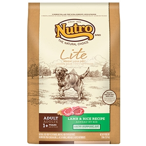 Nutro Adult Lite Weight Loss Dog Food Lamb & Rice Recipe