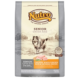 Nutro Original Senior Dog Food Chicken Whole Brown Rice & Oatmeal Recipe