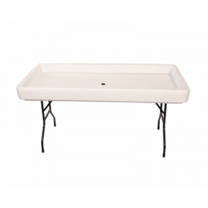 Fill-N-Chill Party Table - White