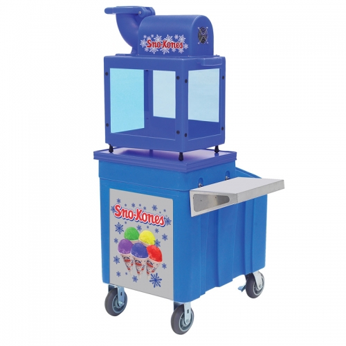 Caddy for Snow Cones Machine, With Shelf