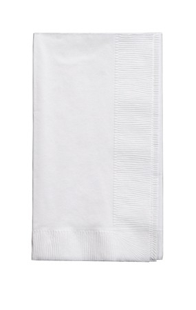 White Napkins - Dinner - 50/pack