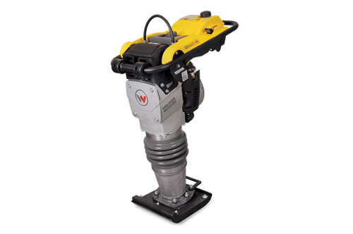 "11"" Shoe, Oil-injected Vibratory Rammer, Wacker engine"