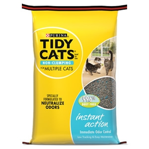 Purina® Tidy Cats® Non-clumping Instant Action Litter