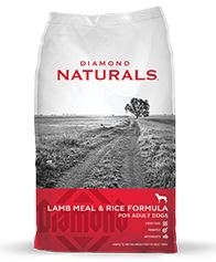 Diamond Naturals Lamb & Rice Dog 6/6 Lb.