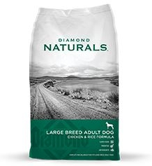 Diamond Naturals Large Breed 60+ Dog 40 Lb.