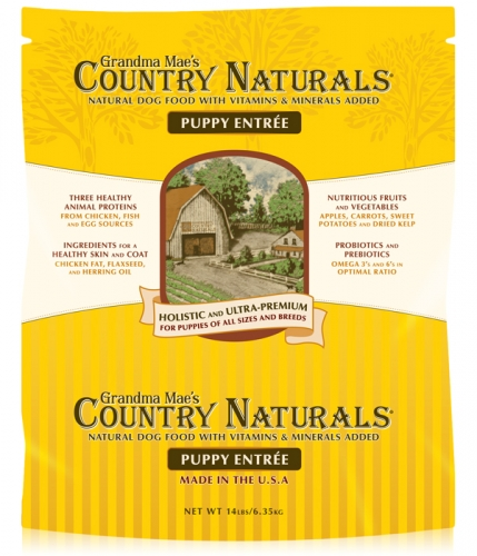 Grandma Mae's Country Naturals Puppy Food 14 lbs