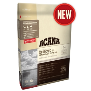 Acana Singles Duck & Bartlett Pear Dry Dog Food
