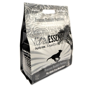Vital Essentials Raw Rabbit Formula Patties