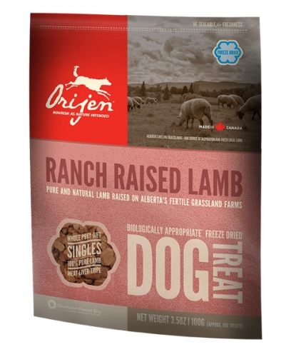 ORIJEN Ranch Raised Lamb Dog Treats