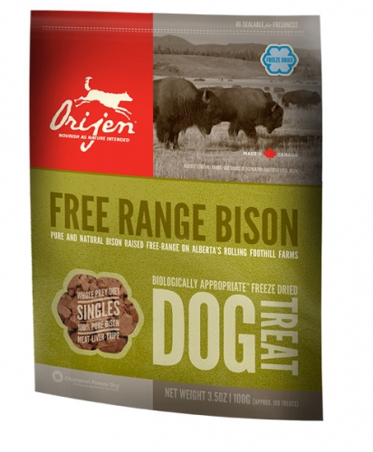 ORIJEN Alberta Bison Dog Treats