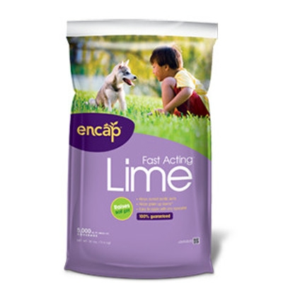 Encap Fast Acting Lime for Your Lawn