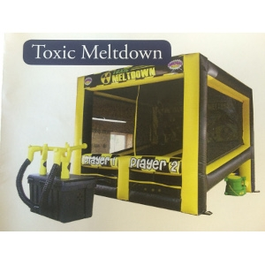 Toxic Meltdown Inflatable Game
