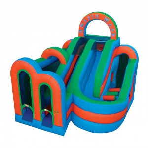Inflatable Wet & Dry Obstacle Combo Amazin Maze