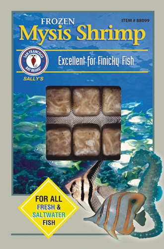 San Francisco Bay Brand Frozen Mysis Shrimp