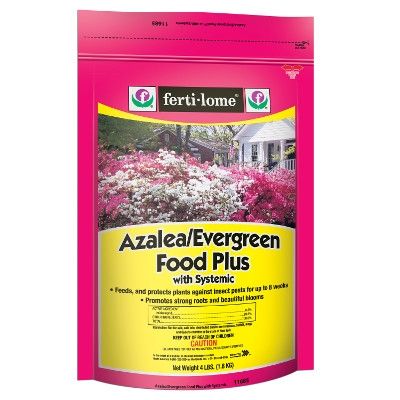4 lb. Azalea/Evergreen Food Plus with Systemic, 9-15-13