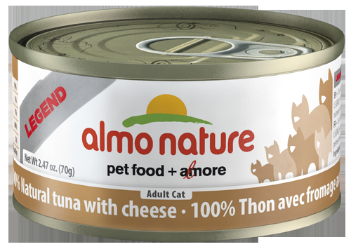 100% Natural Tuna with Cheese Wet Cat Food