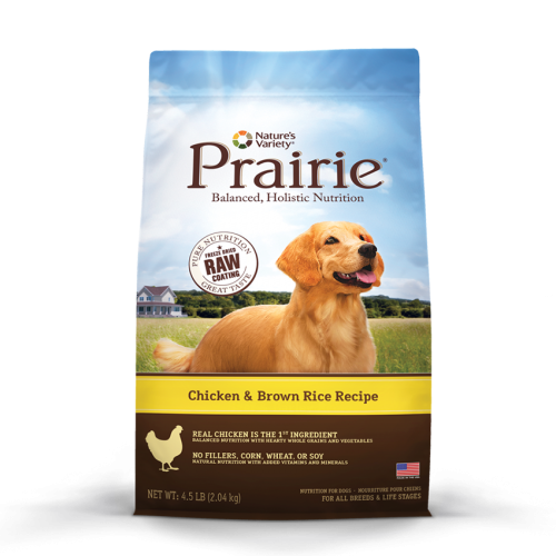 Nature's Variety Prair Chicken/Brown Rice Dog 4.5# C4