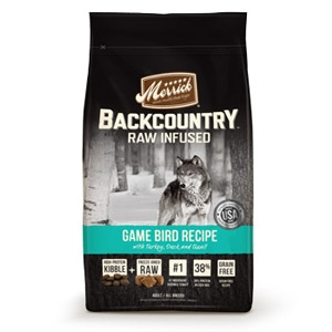 Merrick Backcountry Grain Free Game Bird with Turkey Adult Dry Dog Food