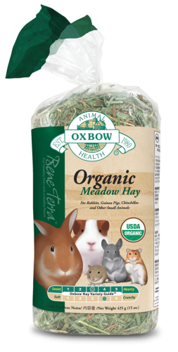 Oxbow Bene Terra Organic Meadow Hay 6/15 oz