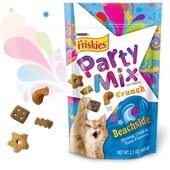Friskies Crunchy Party Mix Beachside 7/6 oz. Pack