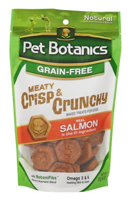 Pet Botanics - Meaty - Crisp & Crunchy Treats - Salmon 8OZ